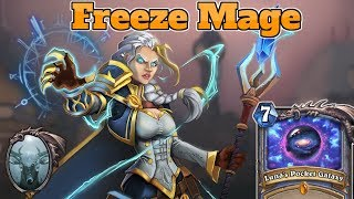 [Legend] Pocket Galaxy Freeze Mage | The Boomsday Project | Hearthstone Guide How To Play