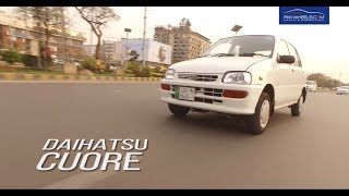 Daihatsu Cuore Detailed Review: Price, Specs & Features | Pakwheels