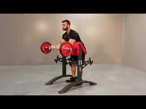 1HP215 - Standing curl bench