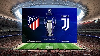 Atletico Madrid vs Juventus - UEFA Champions League 2018/19 Prediction