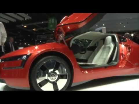 Volkswagen XL1 with exploding bolts unveiled