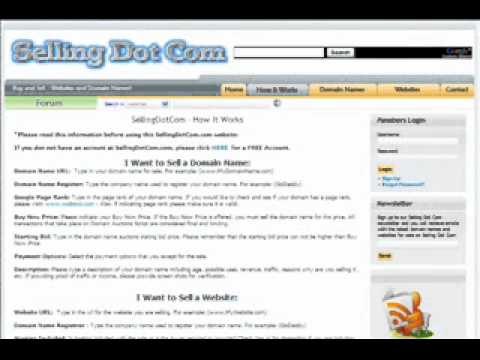 Sell your Domain names and Websites FREE