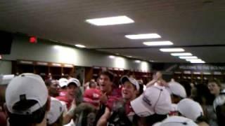 Alabama Locker Room: Post-Game - 2010 BCS National Champions!