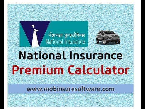 National Insurance Car Premium Calculator | Zero Depreciation Premium | PDF Quotation