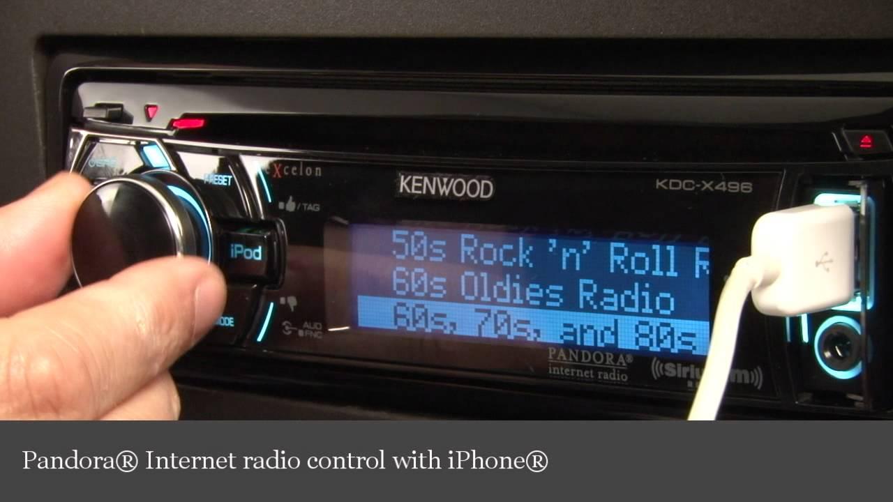 kenwood excelon kdc x496 cd receiver display controls demo crutchfield video youtube [ 1280 x 720 Pixel ]