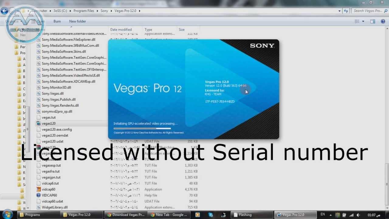 Sony vegas pro 9.0 keygen only download