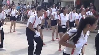 Tabla Ritmica Escuelas Secundarias Tecnicas N*15 Costa rica Sinaloa