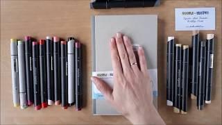 Евгения Липатова - Обзор коробочки Doodle&Sketch LessonBox (ноябрь 2017)