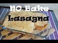 NO bake lasagna | cheese Bechamel recipe | Lasagna recipe