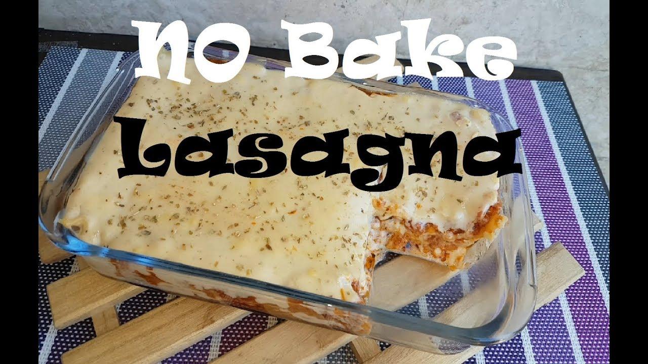 No Bake Lasagna Cheese Bechamel Recipe Lasagna Recipe