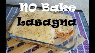 NO bake lasagna | cheese Bechamel recipe | Lasagna recipe