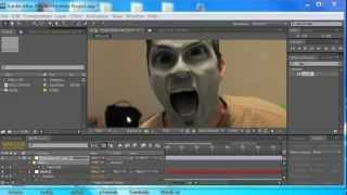 After Effects Demon Face Tutorial - Easy Version Video copilot work around