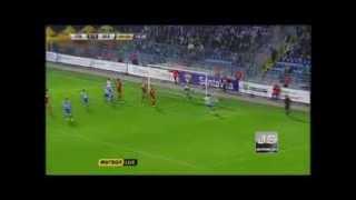 Невероятный гол с сумасшедшей траектории(ФК Севастополь)