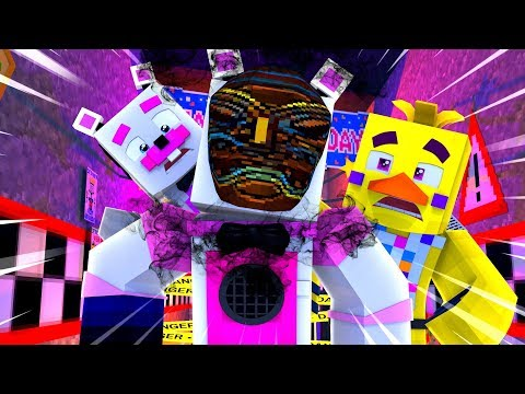 Funtime Freddy and The Cursed Mask ?! | Minecraft FNAF Roleplay