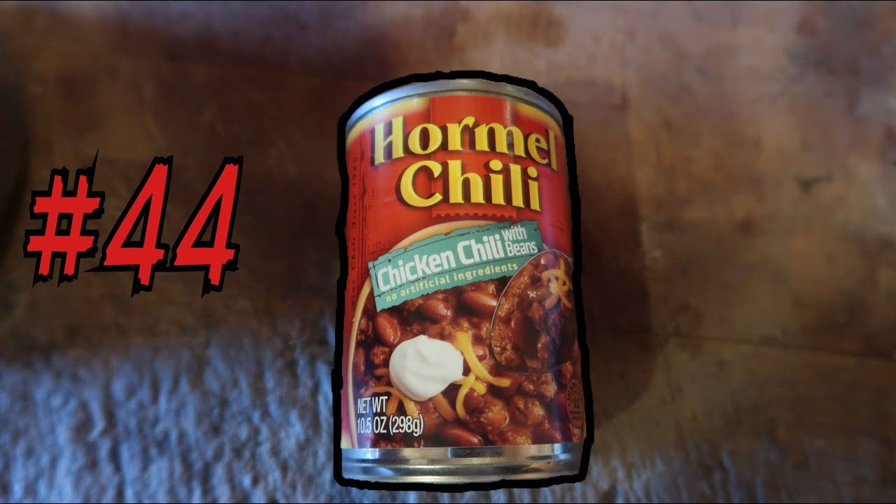 Pinegrove Cookin Thursdays Ep 44 Hormel Canned Chicken Chili Youtube