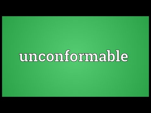 Header of unconformable