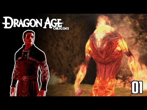 Dragon Age - Origins of a Fire Mage
