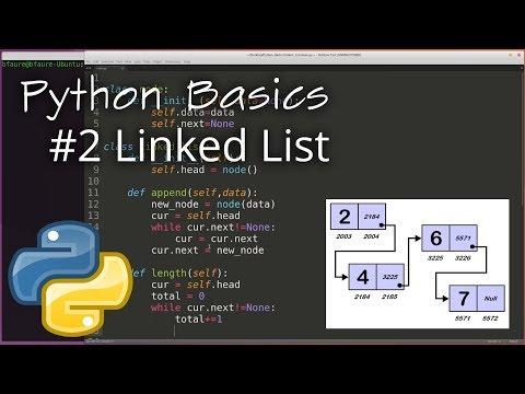 Python Data Structures #2: Linked List