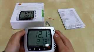 Термогигрометр testo 608 H1(Термогигрометр testo 608-H1 для непрерывного измерения температуры окружающего воздуха, относительной влажнос..., 2014-06-04T06:31:22.000Z)