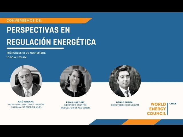 Perspectivas en regulación energética