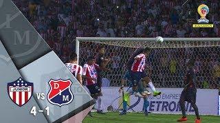 Junior vs Medellín: resumen y goles del partido 4-1 Final Ida Liga Águila 2018 II
