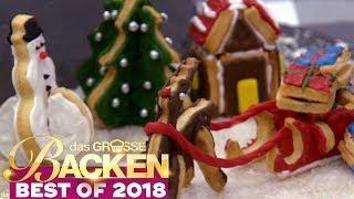 Christmas-Plätzchen: Schmecken die Winter Kekse? | Verkostung | Das große Backen 2018 | SAT.1 TV