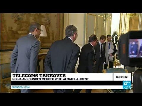 Nokia Confirms €15 Billion Alcatel Lucent Merger