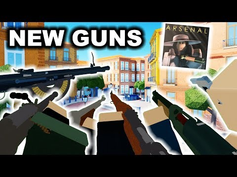 Roblox Arsenal Gun Skins 6 New Guns Skins Gamemode Update Arsenal Roblox Youtube