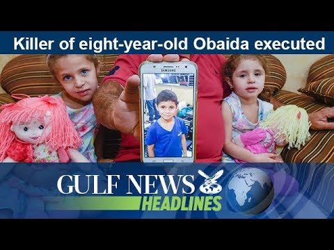 Killer of eight-year-old Obaida executed - GN Headlines