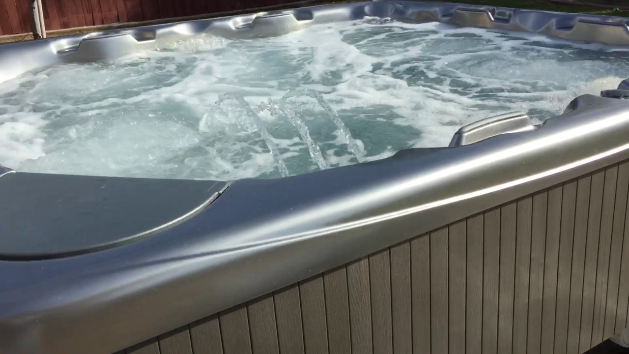 Beachcomber Spa Install - YouTube