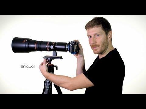 Uniqball Stativkopf - Eine Kombination aus Kugelkopf und Tele-Stativkopf