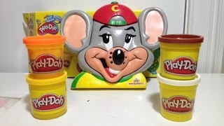 Play-Doh ChuckE Cheese Pizza Play Set How To Make Play Dough Pizza from Play-Doh