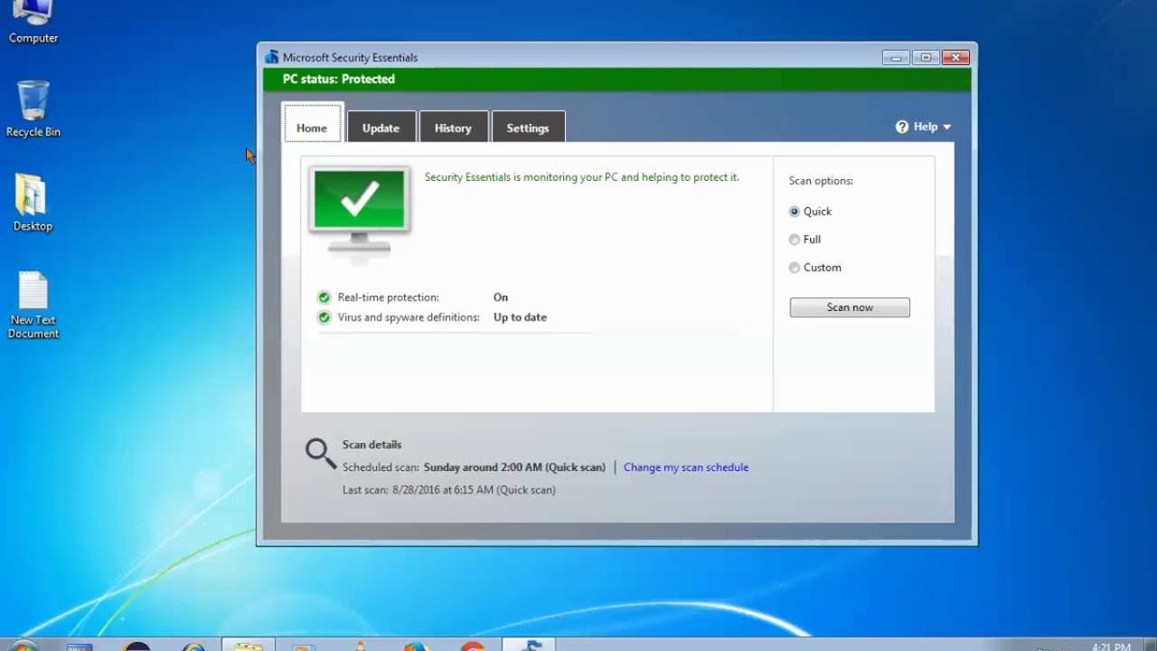 The Best Antivirus For Windows 7 , 8 and 10