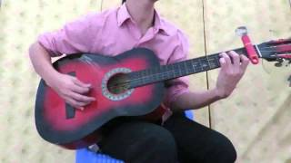 Bolero Guitar - Vùng lá me bay - Tác giả Trần Quang Lộc (?)