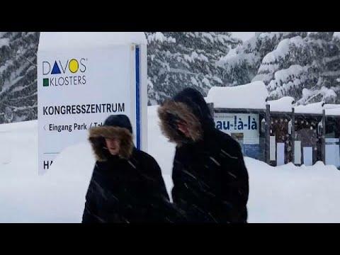 euronews (em português): Davos a postos para receber os grandes e poderosos