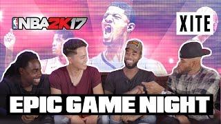 BASKETBAL PUNTEN SCOREN ALS JAAP STAM?! | Epic Game Night #1 NBA 2K17