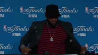 LeBron James Postgame Interview #1 - Game 5 | Cavaliers vs Warriors | June 12, 2017 | NBA Finals