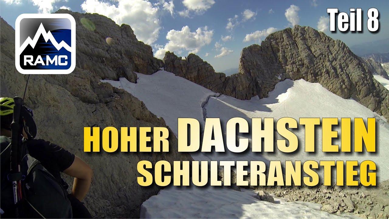 Klettersteig Johann Topo : Hoher dachstein klettersteig schulteranstieg gopro hd