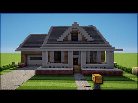 Minecraft: Como construir uma Casa Americana 3