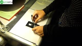 Изготовление печати из фотополимера у VIP-Штамп