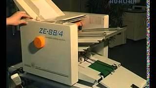 Automatic Paper Folding Machine ZE 8B4
