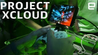 We take a first look at Microsoft's Project xCloud in action. Subscribe to Engadget on YouTube: http://engt.co/subscribe Engadget's Buyer's Guide: ...