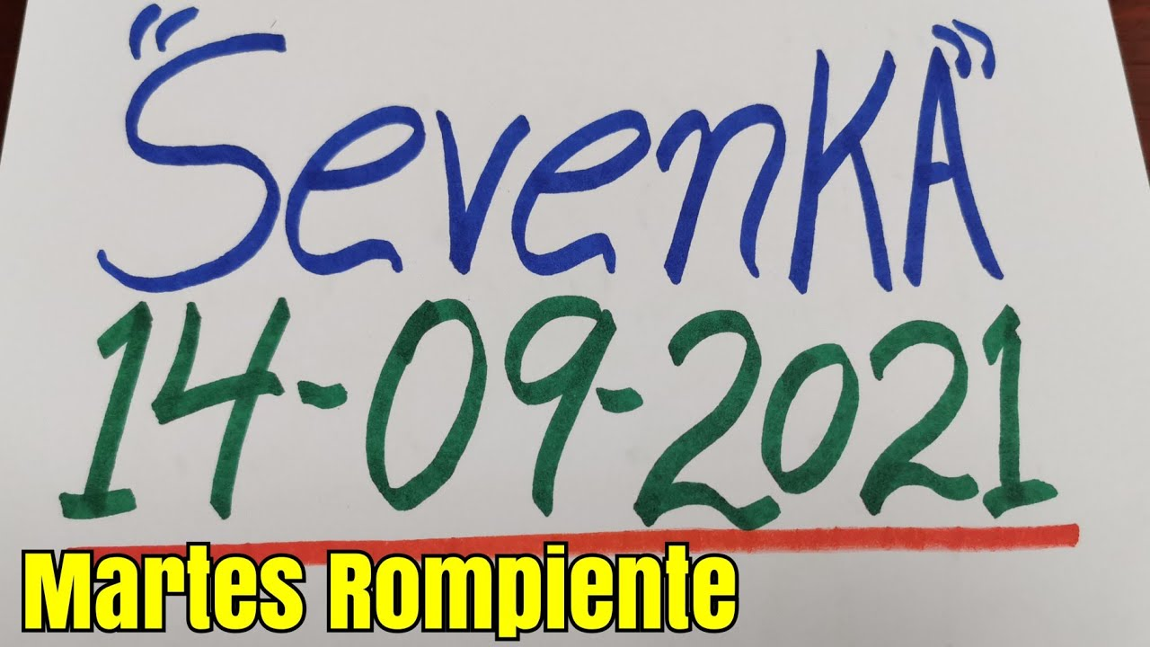 Números Fuertes hoy Martes 14 de Septiembre. By SevenKA