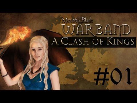 Mount&Blade Fr : A Clash Of King - Ep01 On Fuit Les Dothrakis