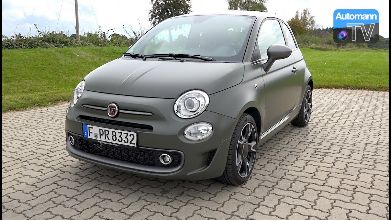 2017 Fiat 500s Twinair 105hp Drive Amp Sound 60fps