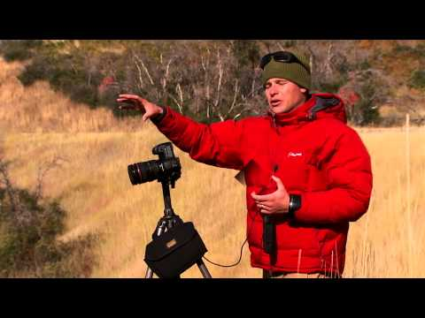 Adam Barker demonstrates the use of Singh-Ray filters in the field