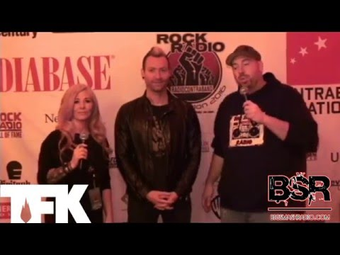 Trevor from Thousand Foot Krutch at Radio Contraband 2016