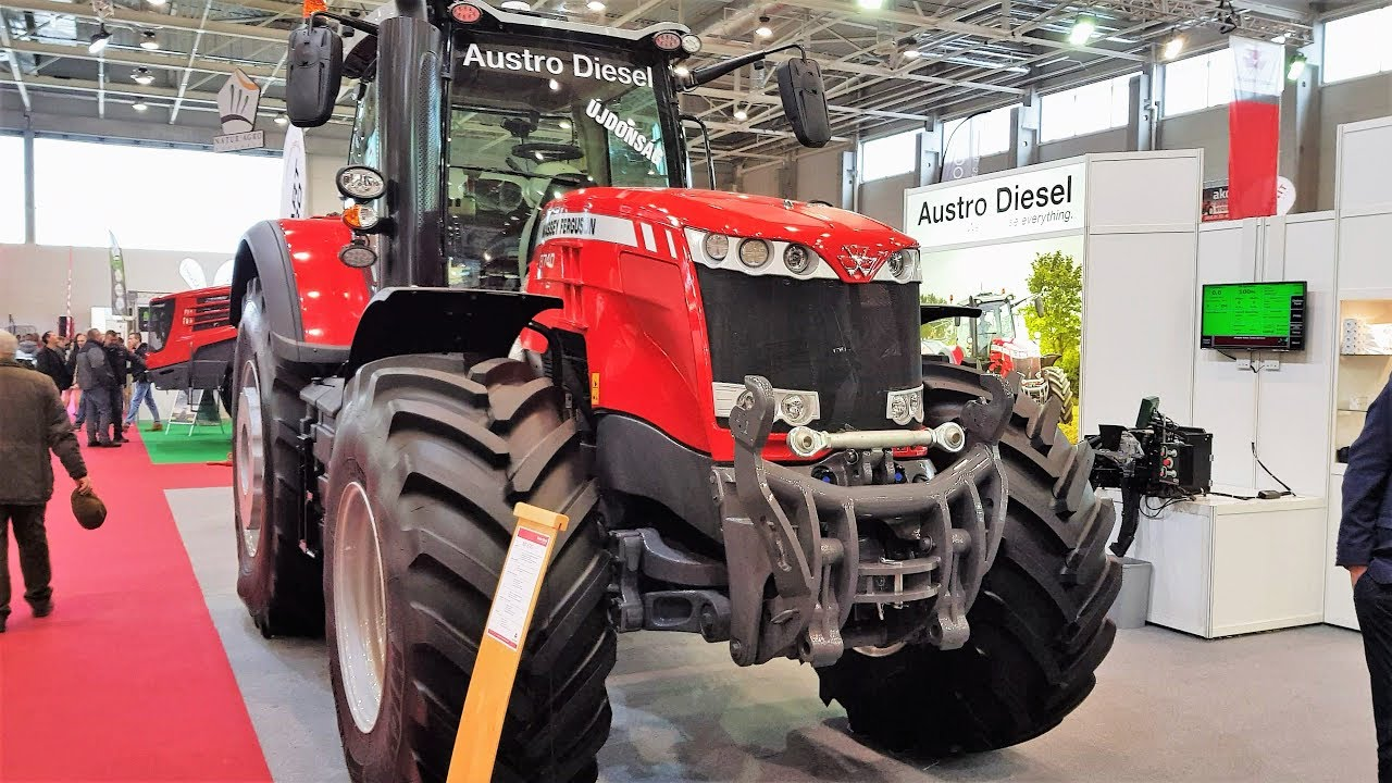 Massey Ferguson tractors 2018 new models