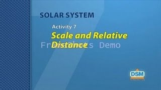 Solar System - Activity 7: Scale and Relative Distance