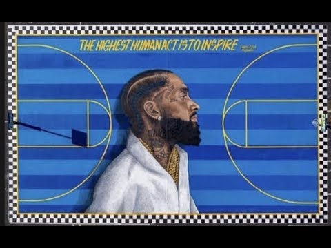 The Wake Up Show - LA Cements Nipsey Hussle's Legacy With Full Basketball Court
